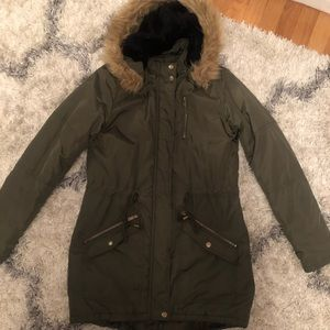 Mossimo Supply Co.  Jacket, Army Green, Size Small
